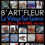 Barfleur Le village fait galerie 23 et 24 avril 2016